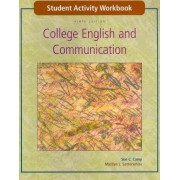 Student Activity Workbook to Accompany College English and Communication by Sue C Camp