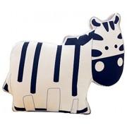 CN'Dragon Creative Animal Pillow Shape Cute Cushion Stuffed Toy Birthday Gift Throw Pillows Plush Toys (Zebra)