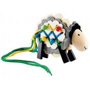 Hape E1049 - Pecorella con Stringhe, Multicolore