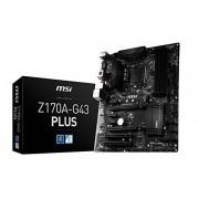 MSI Z170A-G43 Plus Scheda Madre Intel 1151, Nero