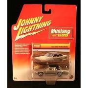 Johnny Lightning Mustang & Fords 1968 Ford Thunderbird Silver/Black Roof #5