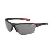 CEBE Ochelari de soare sport barbati Cebe CINETIK MATT BLACK RED 1500 GREY POLARIZED FM