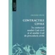CONTRACTE CIVILE IN CONTEXTUL NOULUI COD CIVIL SI AL NOULUI COD DE PROCEDURA CIVILA