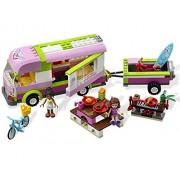 LEGO Friends Adventure Camper - juegos de construcción (Multicolor)
