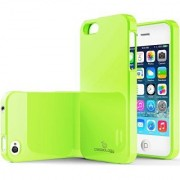 iPhone 4S Case Caseology [Daybreak Series] Slim Fit Shock Absorbent Cover [Lime Green] [Slip Resistant] for Apple iPhon