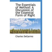 The Essentials of Method by Charles Degarmo