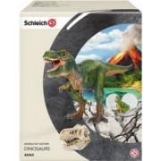 Figurina Schleich T-Rex Scenery Pack