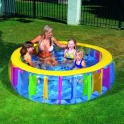 Bestway Planschbecken Schwimmbecken Rainbow Pool 51038