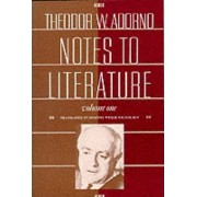 Notes to Literature: v. 1 by Theodor W. Adorno