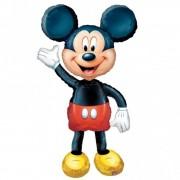 Balon folie airwalker Mickey Mouse Disney - 132cm, Amscan 08318