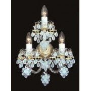 Crystal wall sconce 4065 03HK-3635