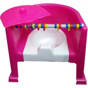 Gold Dust's Baby Traning Potty Seat cum Chair - Pink