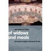 Of Widows and Meals by Reta Halteman Finger