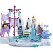 Frozen Diorama Playset Elsa'S Ice Skating Rink Mattel