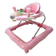 Basson Baby Walker Walk'n Gåbord Play Rosa