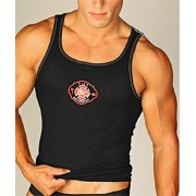 Go Softwear Law Enforcement Fire Logo Tank Top T Shirt 3105F