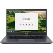Laptop Acer Chromebook CP5-471 14 inch Full HD Intel Celeron 3855U 4GB DDR3 32GB eMMC Chrome OS Black