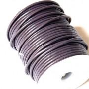 Cordon cuero violeta 2mm (precio por 50 cm )