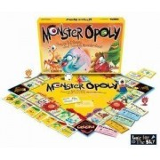 Monster Opoly Board Game by Late for the Sky