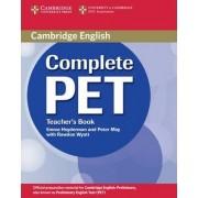 Complete PET Teacher's Book by Emma Heyderman