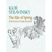 The Rite of Spring for Piano Four Hands by Igor Stravinsky