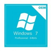 Microsoft Windows 7 Professional 64-Bits SP1- OEM Português