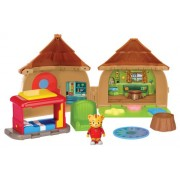 Daniel Tigers Neighborhood Bungalow Adventure Playset with Daniel Tiger Figure
