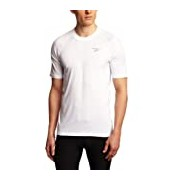 Brooks Men's Equilibrium II Short Sleeve Running Top - White/Anthracite, X-Large