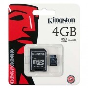 Memoria Micro SD 4 GB Kingston