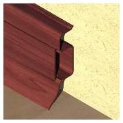 PBC505 - Plinta PROLUX din PVC culoare mahon pentru parchet 50 mm