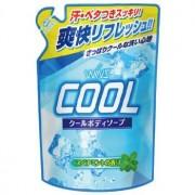 """NIHON Detergent """"Wins Cool body soap"""" Охлаждающее мыло для тела, с ментолом и ароматом мяты, 400 мл."""