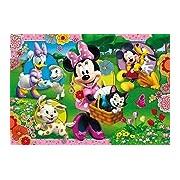 Clementoni Puzzle 104 Pieces 23636.7 Jigsaw Puzzle, Minnie's Garden