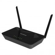Netgear D1500 N300 WiFi DSL Built-in ADSL2+ Modem Router (Black)