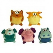 Votoys Vo-Toys Pudgies 7in Plush Dog Toy Assorted Styles by Votoy