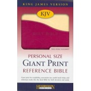KJV Personal Size Giant Print Reference Bible by Hendrickson Publishers