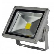 LED-FL-20W fényvető/reflektor, 4000K, szürke