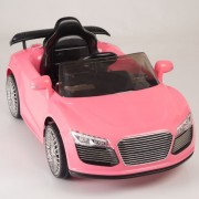 Kids Ride On Car Electric Power Remote Control Wheels Mp3 Pink Upgraded With A 6 V 10 Ah Battery & Big Motor