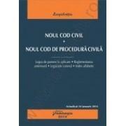 Noul Cod civil. Noul Cod de procedura civila - actualizat 24 ianuarie 2014