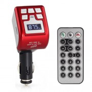 Bluetooth Mp3 transmitter s handsfree červený