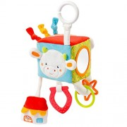 Fehn Fluo Kiddos Activity-Cube with C-Ring