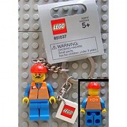 LEGO City - Train/Construction Worker Key Chain (851037)