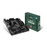 Carte mre Z170M MORTAR Micro ATX Socket 1151 Intel Z170 Express - SATA 6Gb/s - SATA Express - USB 3.1 - 2x PCI-Express 3.0 16x