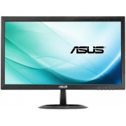"Monitor TN LED ASUS 19.5"" VX207DE, HD Ready (1366 x 768), VGA, 5 ms, Flicker free, Low Blue Light (Negru) + Set curatare Serioux SRXA-CLN150CL, pentru ecrane LCD, 150 ml + Cartela SIM Orange PrePay, 5 euro credit, 8 GB internet 4G"