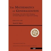 The Mathematics of Generalization by David H. Wolpert