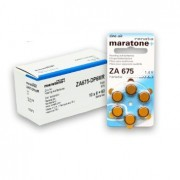 Baterii auditive zinc-aer Renata Maratone+ ZA675