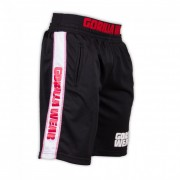 Gorilla Wear California Mesh Shorts Black/Red - L/XL
