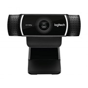 Logitech C922 Pro Stream Webcam 1080P Camera for HD Video Streaming Recording 720P At 60Fps with Free Tripod 960-001087
