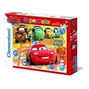 """Clementoni """"Cars"""" Puzzle (60 Piece), 13.19 x 9.25"""""""
