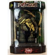 1998 Total Chaos Action Figure Special Edition Poacher In Tank Display Case Fao Schwarz Exclusive