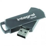 Stick USB 16GB 360 Gri Integral